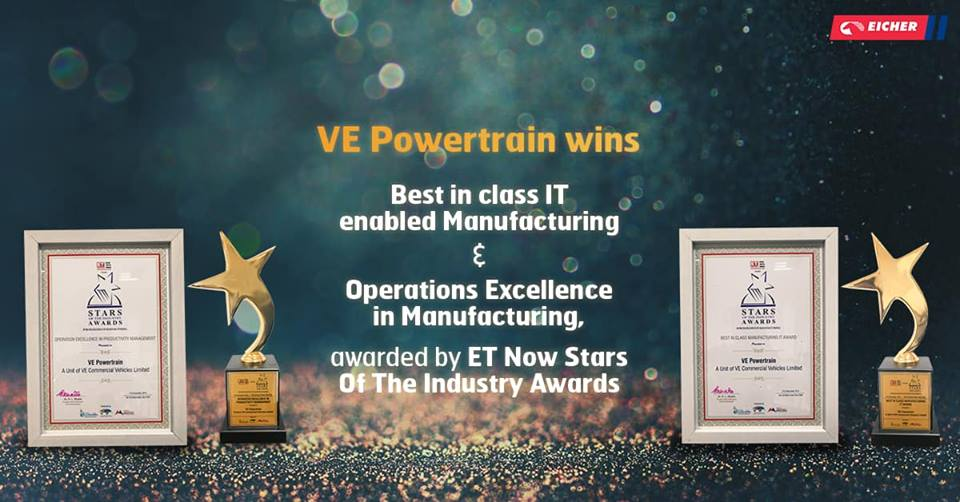 VE Powertrain wins