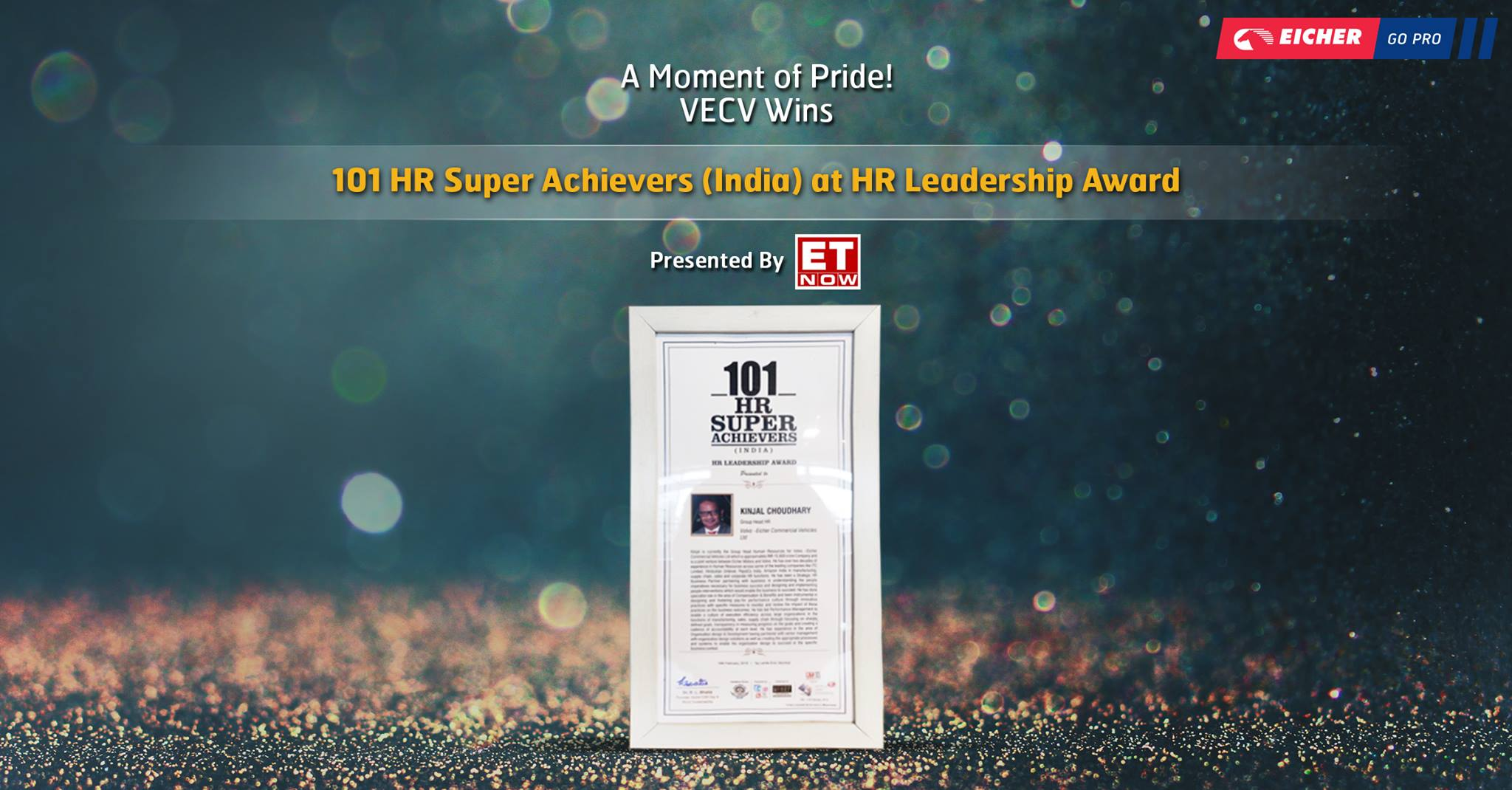 101 HR Super Achievers (India) at HR Leadership Awards