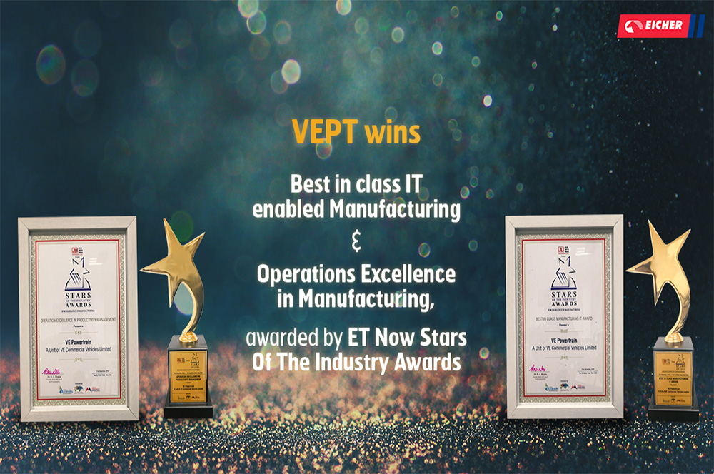 Eicher bags ET now stars of the industry awards