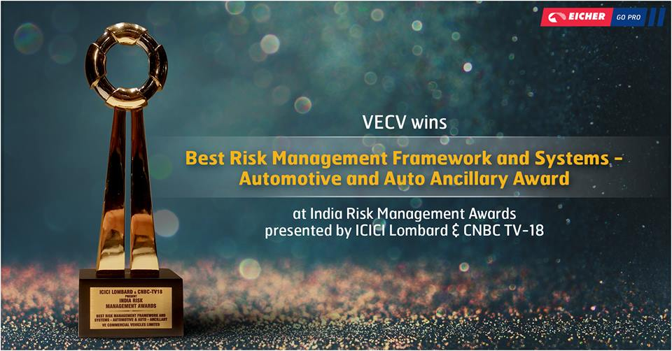 Best Risk Management Framework and Systems - Automotive and Auto Ancillary Awards