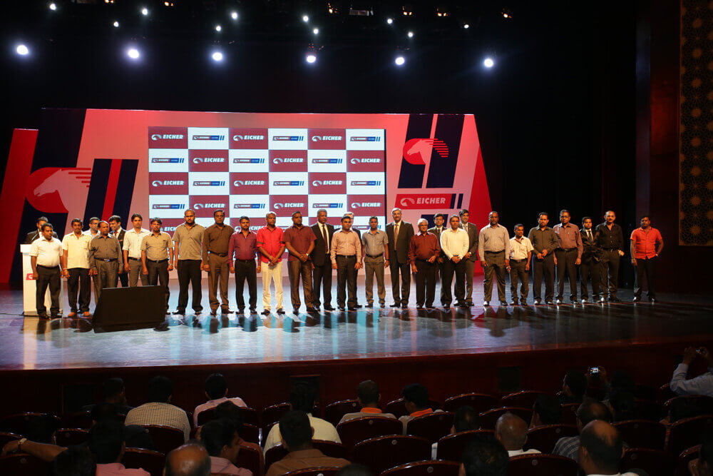 Key customers at Eicher Pro Series Launch in Colombo, Sri Lanka