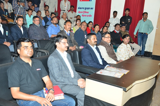 Eicher Road Safety Week Event