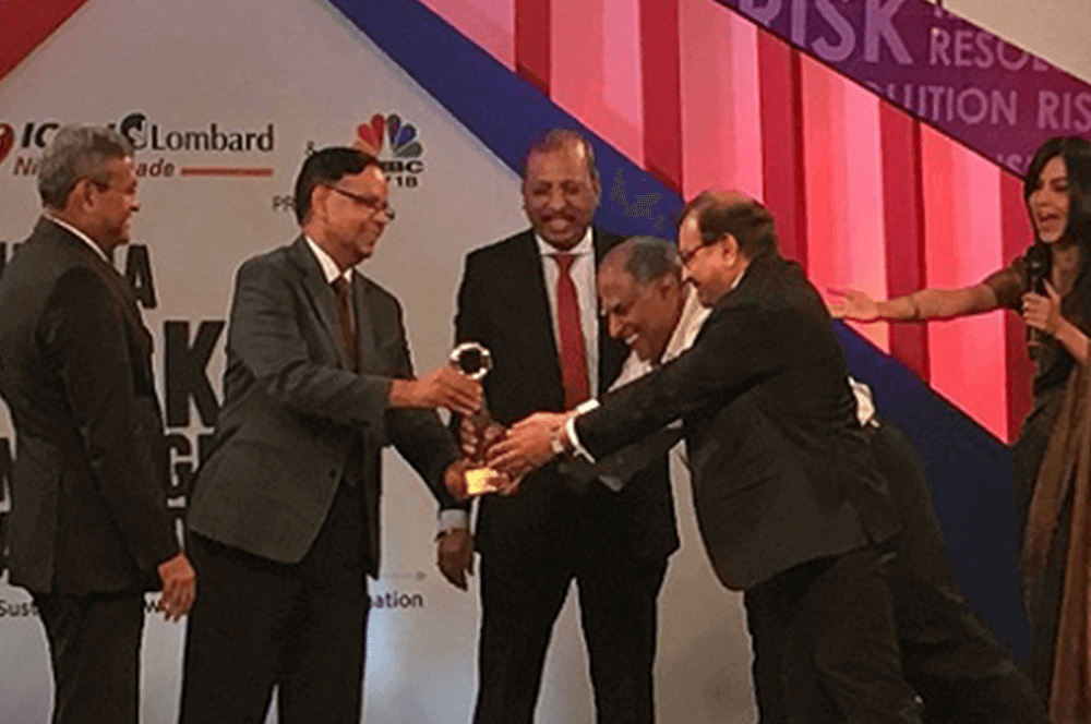 Eicher creates history by winning India Risk management award