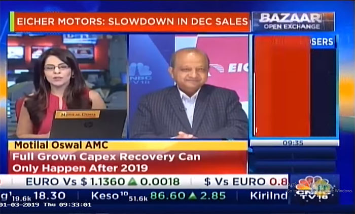 Vinod Aggarwal, MD & CEO, VECV speaks to CNBC TV18