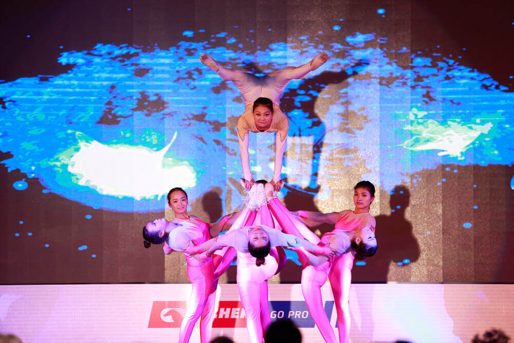 Cultural Performance at Annual Dealer Conference, Shanghai, 2015