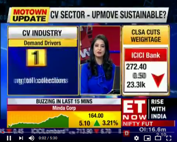 Vinod Aggarwal, MD & CEO, VECV speaks to ET Now about VECV's upward looking sales in June 2018