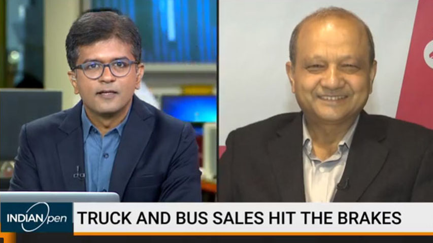 Vinod Aggarwal, MD & CEO, VE Commercial Vehicles speaks to BloombergQuint