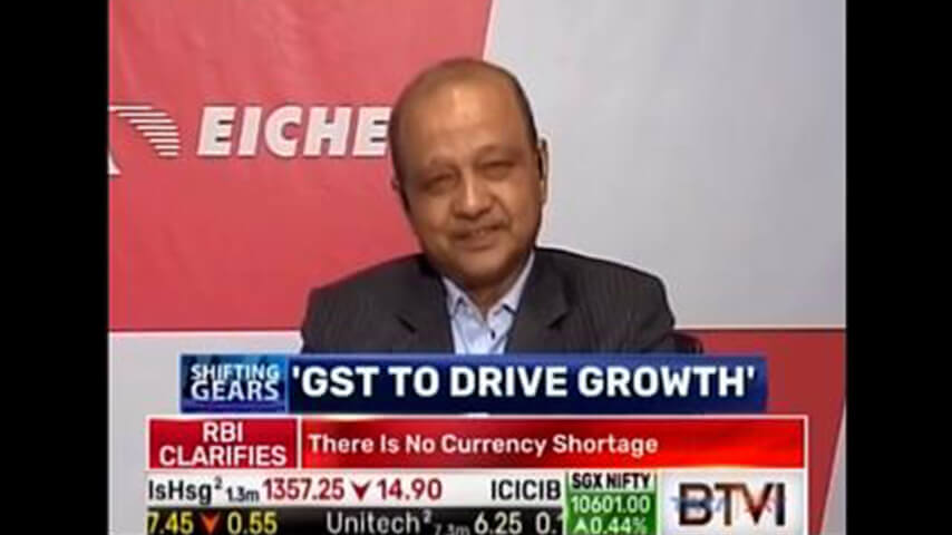 In Conversation With Vinod Aggarwal, MD & CEO, VECV on ShiftingGears | BTVI