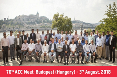 70th ACC-Meet-Budapest- (Hungary)