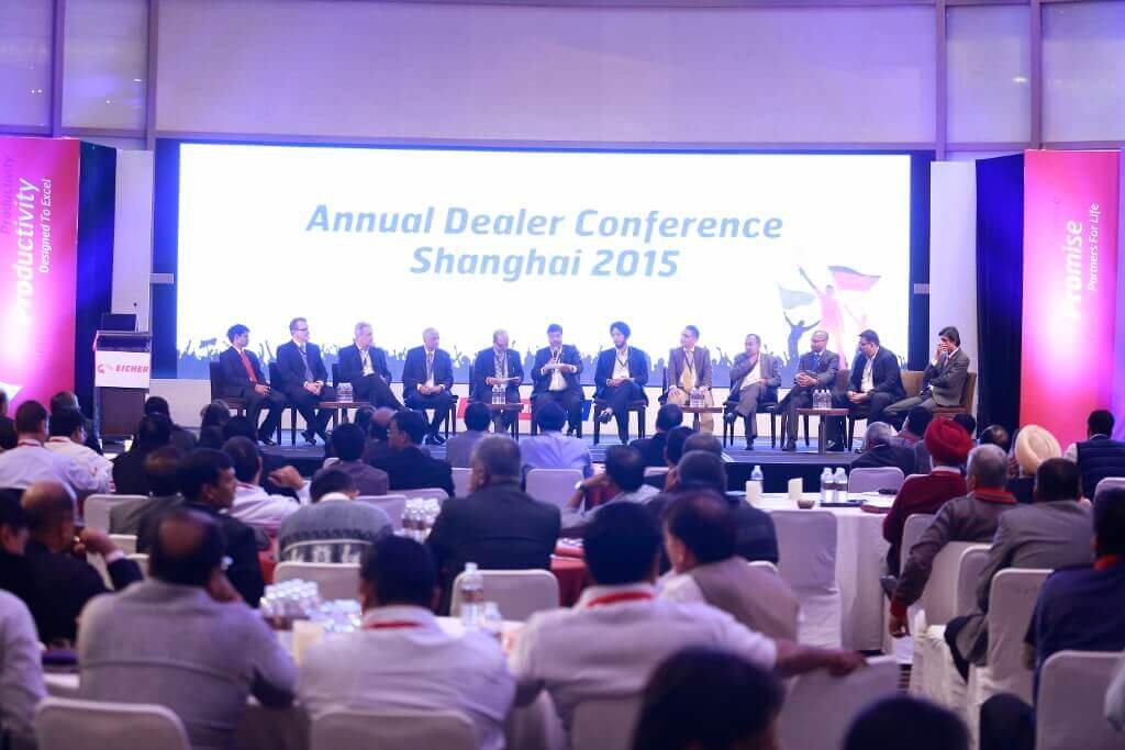 Q&A Session at Annual Dealer Conference, Shanghai, 2015