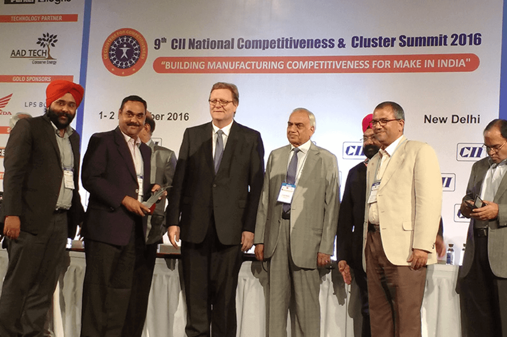 VECV awarded 3rd Prize for Case Study in Total Employee Involvement in Large Organization Category at 9th CII National Competitiveness & Cluster