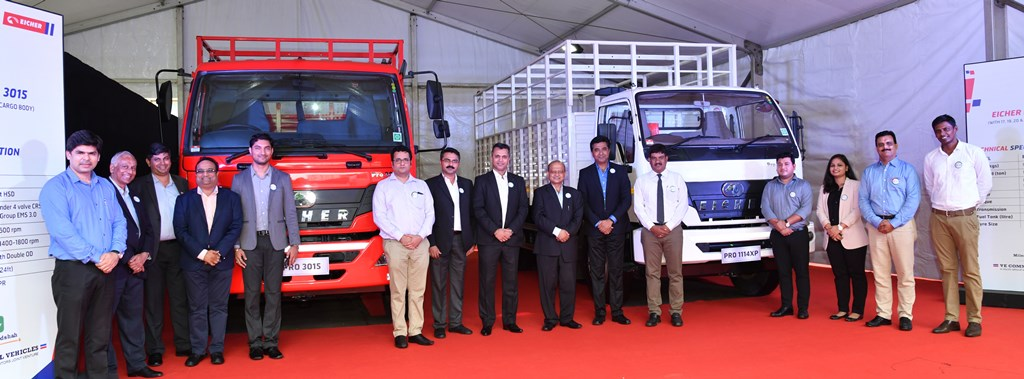Eicher Introduces India\'s First 7 Speed Trucking, July, 2018, Mumbai