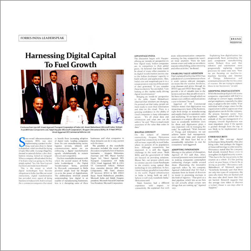 Harnessing Digital Capital To Fuel Growth