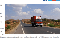 VECV Plans Rs 500-Cr Investment This Year; To Up Truck Volumes