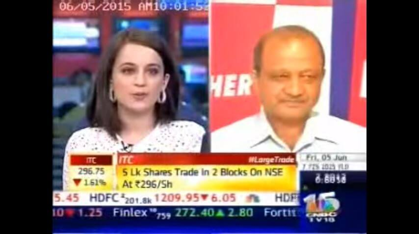 VE Commercial Vehicles on Corporate Radar CNBC TV -18