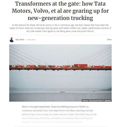TRANSFORMERS AT THE GATE: HOW TATA MOTORS, VOLVO ET AL ARE GEARING UP FOR THE NEW GENERATION TRUCKING