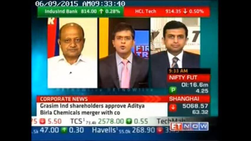 Mr. Vinod Aggarwal, CEO, VE Commercial Vehicles on ET NOW