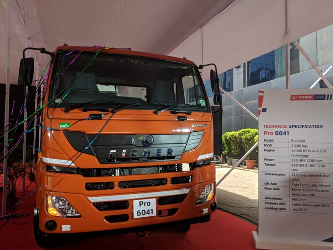 Eicher Trucks and Buses launches Eicher Pro 6049 and Eicher Pro 6041