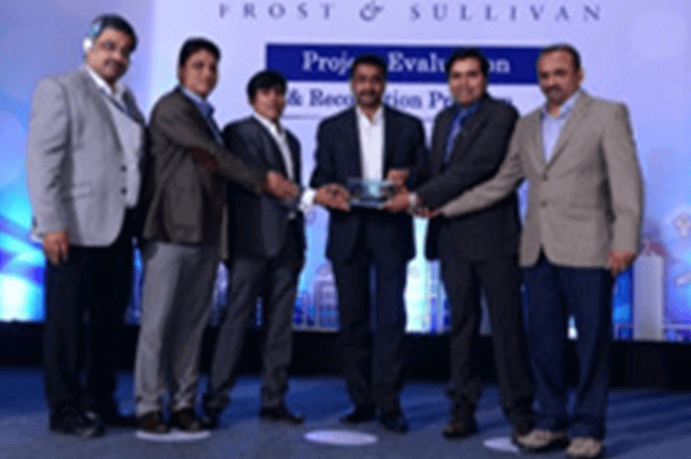 Awarded Gold Certificate of Merit in Frost & Sullivan. India Manufacturing Excellence Awards 2016. Runners up at Frost & Sullivan