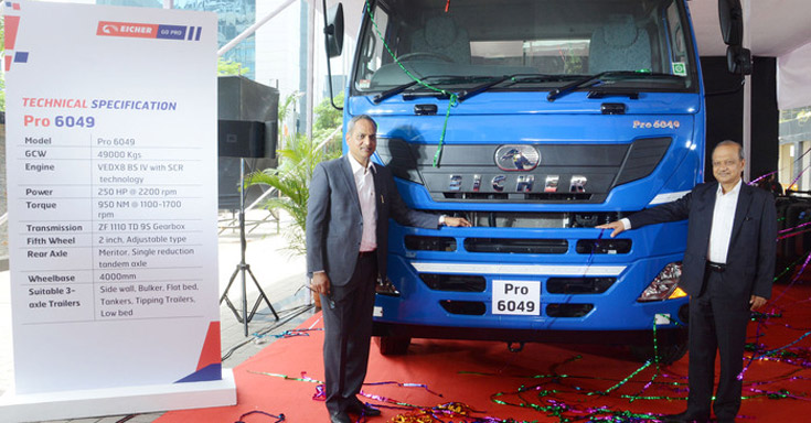 Eicher launches new 250HP Pro 6049 and Pro 6041