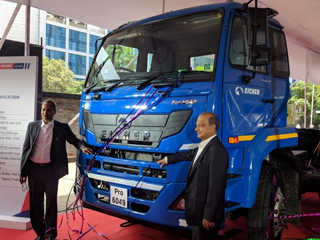 Eicher launches two new heavy-duty trucks: Introduces India\'s first 41 Ton truck