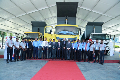EICHER LAUNCHES BS IV RANGE IN SRI LANKA