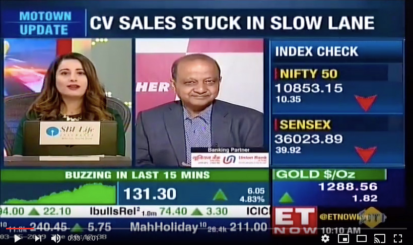 Vinod Aggarwal, MD & CEO, VECV speaks to ET Now