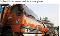 EICHER TRUCKS BUSES DRIVES MODERN TECHNOLOGY WITH TWO NEW HEAVY DUTY TRUCKS